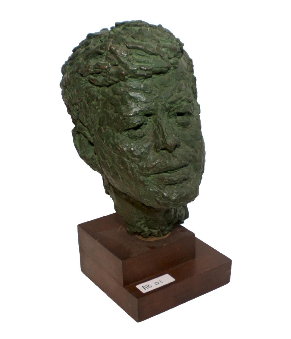 Robert Berks Heroic Bronze Bust of JFK - 3