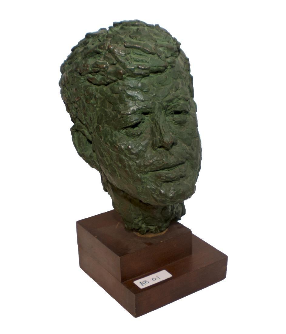 Robert Berks Heroic Bronze Bust of JFK - 3