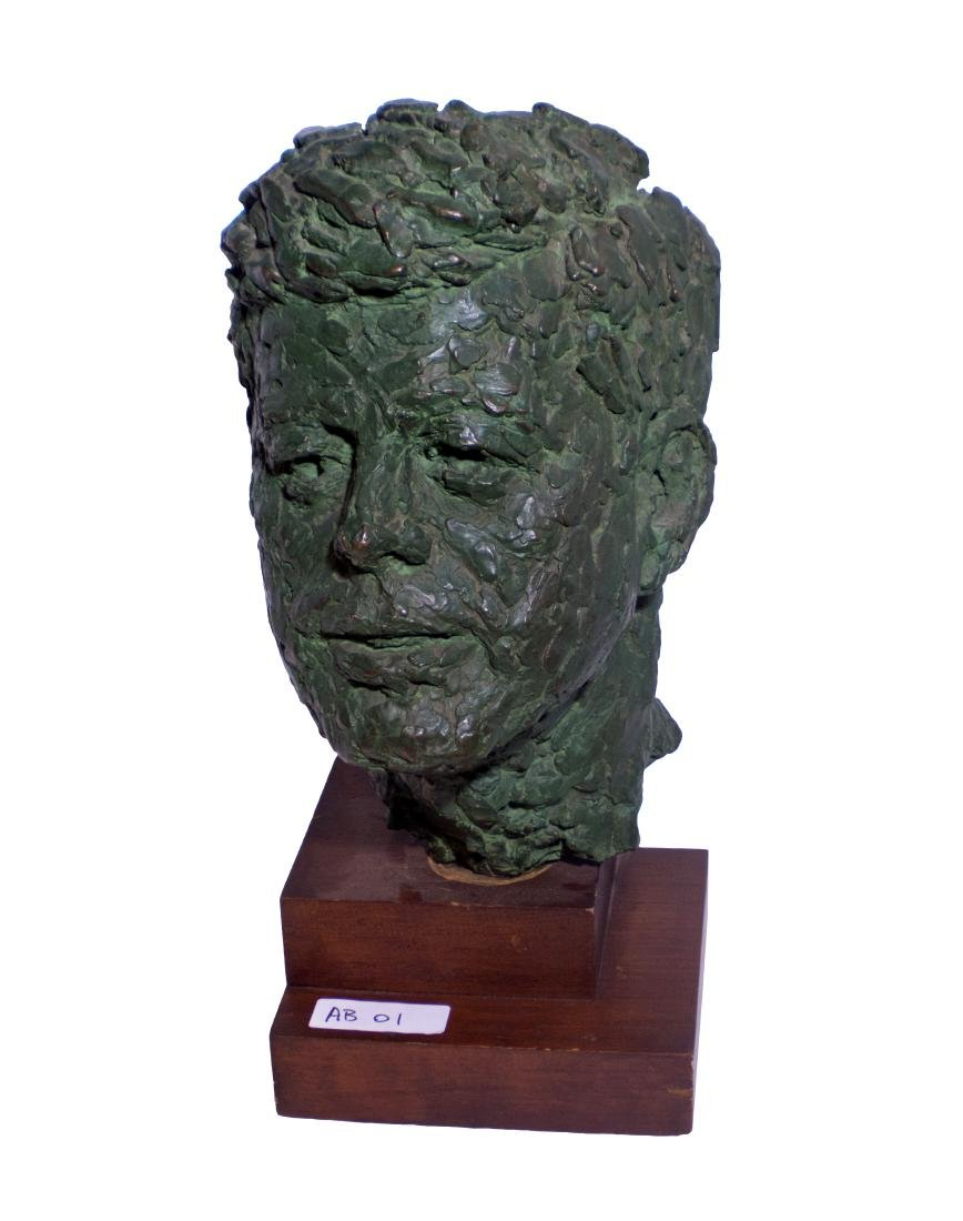 Robert Berks Heroic Bronze Bust of JFK - 4