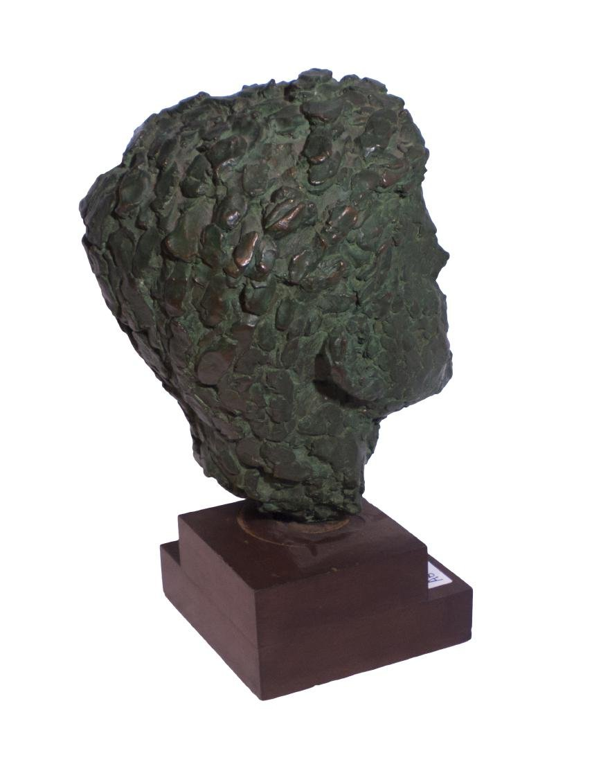 Robert Berks Heroic Bronze Bust of JFK - 5