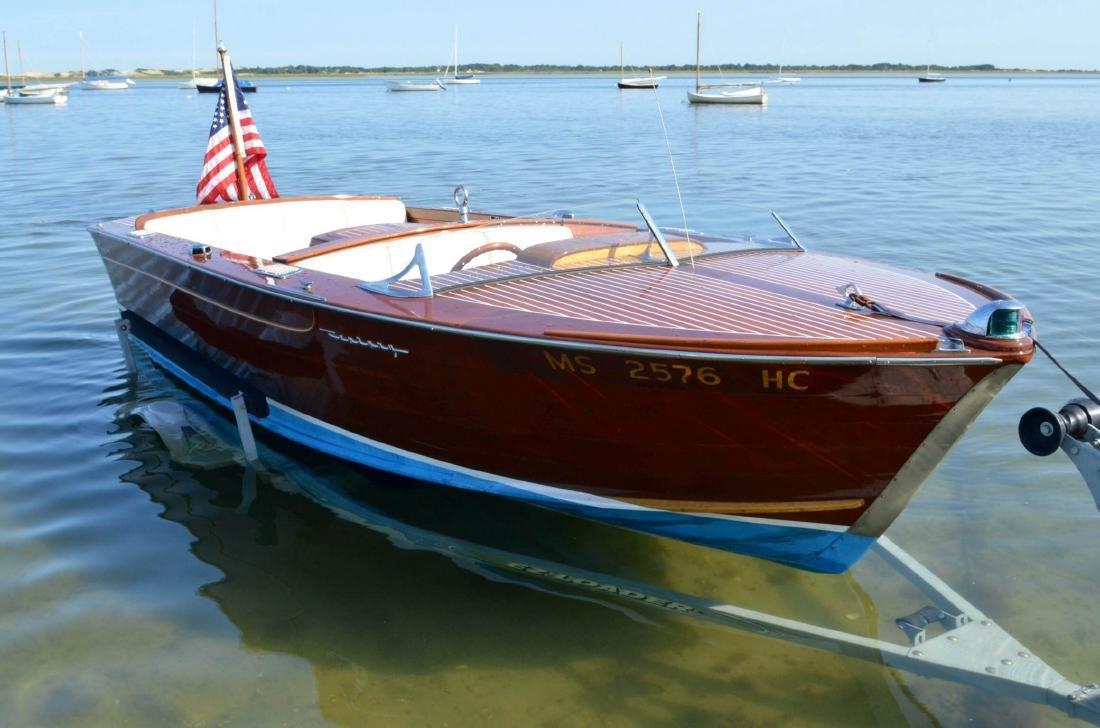 John F. Kennedy's 1961 Century Resorter Speedboat