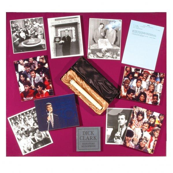 "7: Dick Clark ""American Bandstand"" Microphone"
