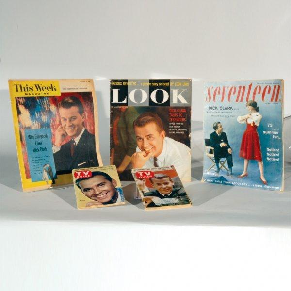 "10: Dick Clark ""TV Guide"" & Magazine Covers, c. 1957"