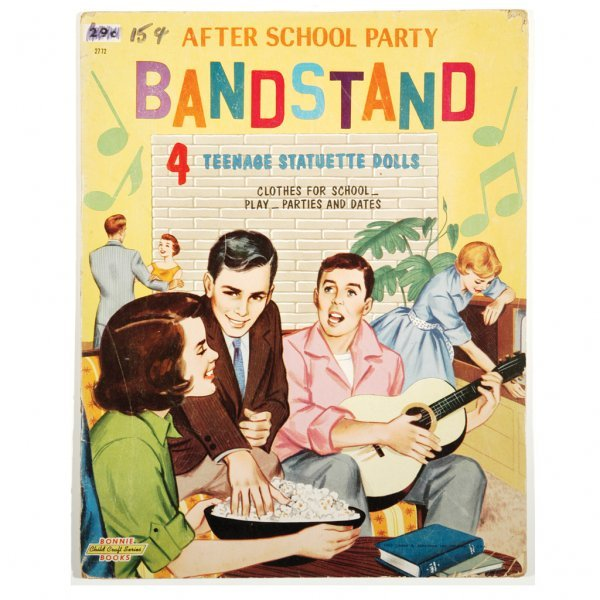 """14: After School Party """"Bandstand"""" Dolls, late-50s"""