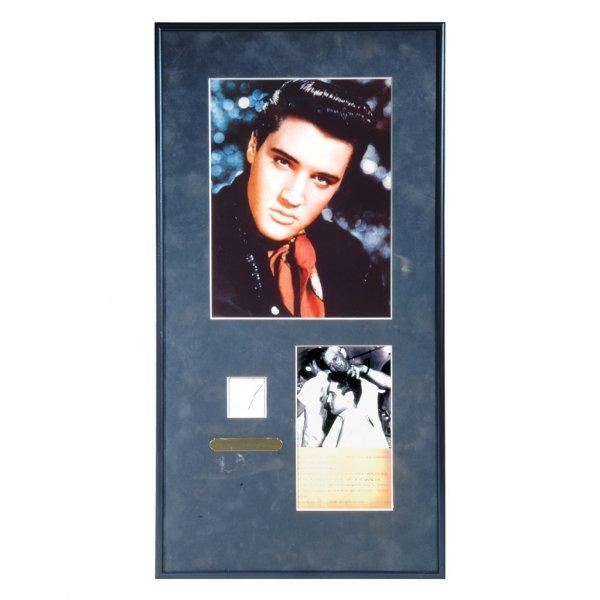 16: Elvis Presley Hair Clippings, 1958