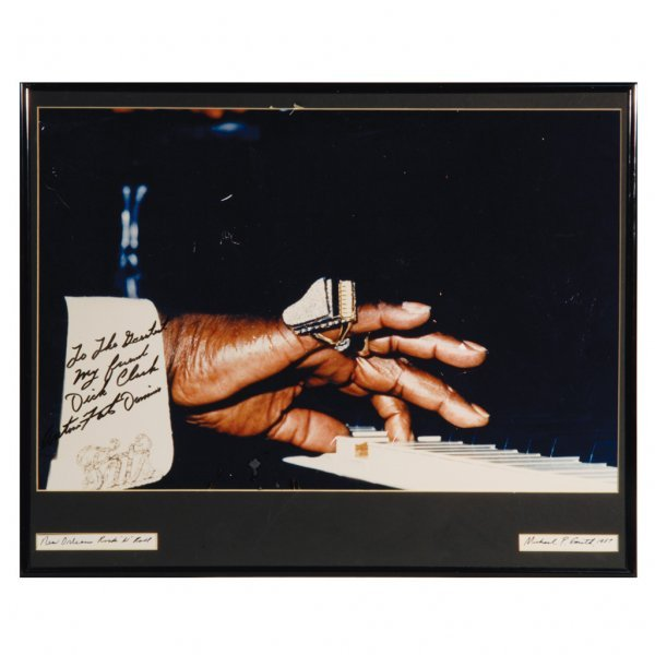 21: Fats Domino Signed Photo