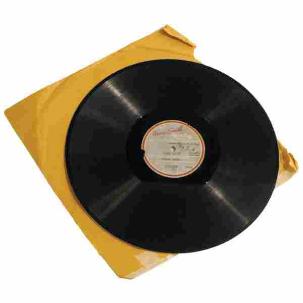 "Sinatra First Studio Recording, ""Our Love"" 1939"