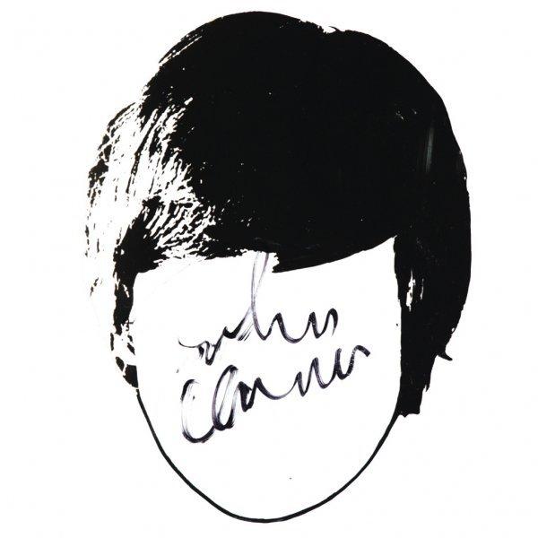 353: Autographed John Lennon Cartoon Head