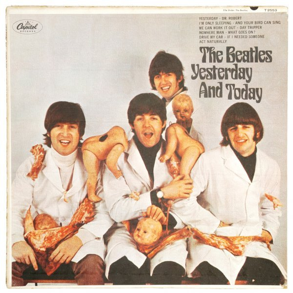 "364: The Beatles ""Butcher"" Album Cover"