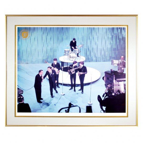 393: The Beatles on Ed Sullivan Photo, 1964