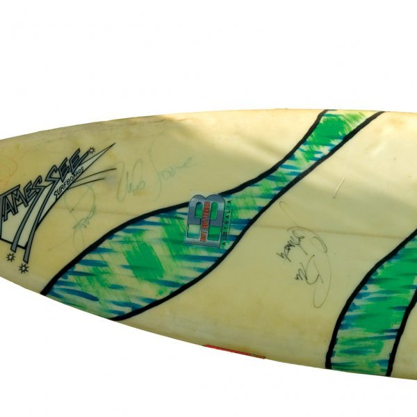 418: Beach Boys Signed Surfboard - 2