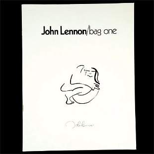 "298A: John Lennon's ""Bag One"" Lithographs"