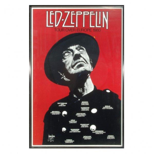 520: Led Zeppelin 80s Tour Merchandise