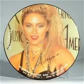620 Madonna Autographed Picture Disc