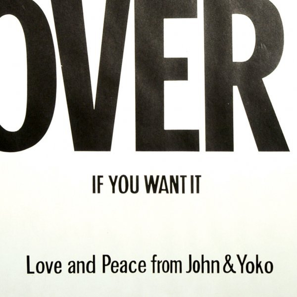 770: War is Over! Poster - 2