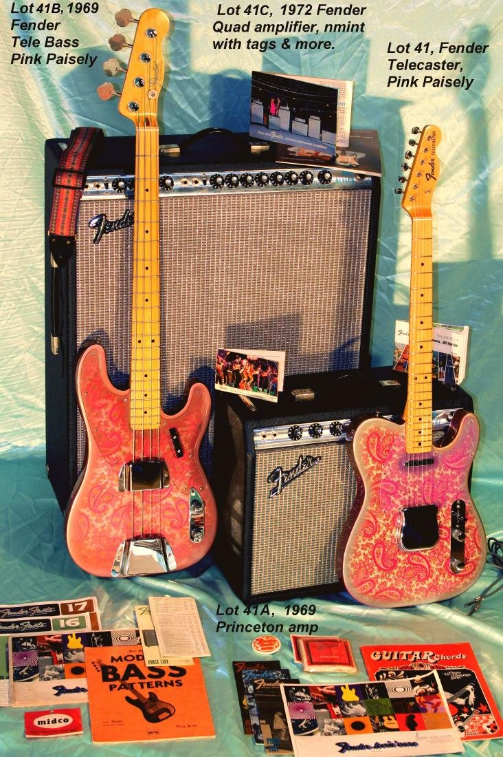 1969 Pink Paisley Fender Telecaster
