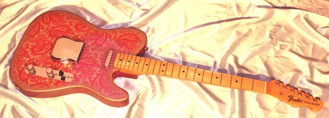 1969 Pink Paisley Fender Telecaster - 2