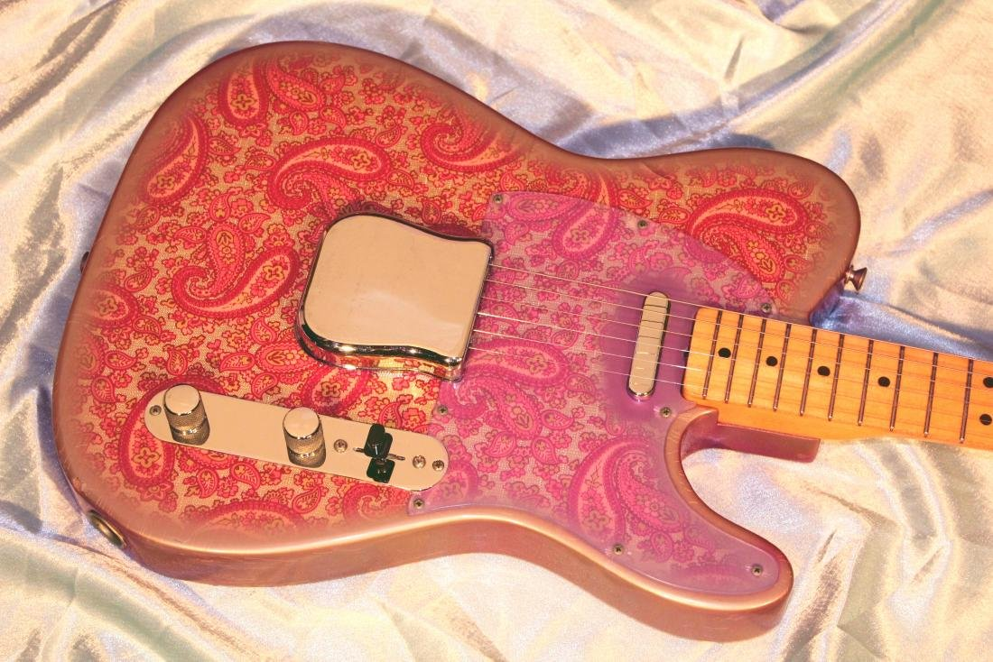 1969 Pink Paisley Fender Telecaster - 3