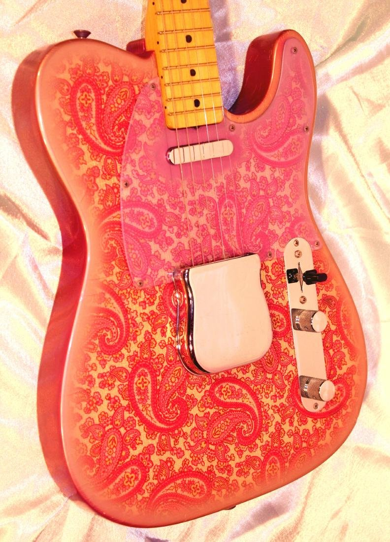 1969 Pink Paisley Fender Telecaster - 4