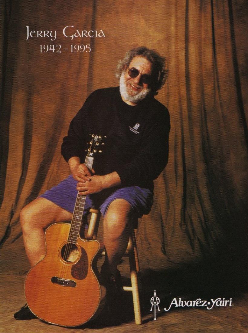 Jerry Garcia Acoustic 1990 Alvarez-Yairi Guitar - 12
