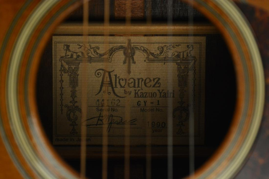 Jerry Garcia Acoustic 1990 Alvarez-Yairi Guitar - 5