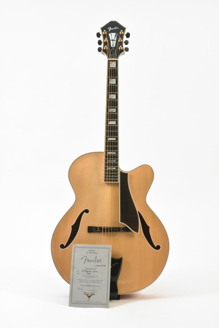 1994 Fender D'Aquisto Blonde Ultra Archtop, #002 - 3