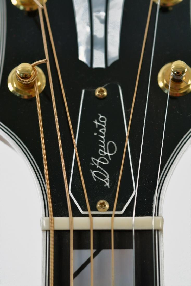 1994 Fender D'Aquisto Blonde Ultra Archtop, #002 - 9