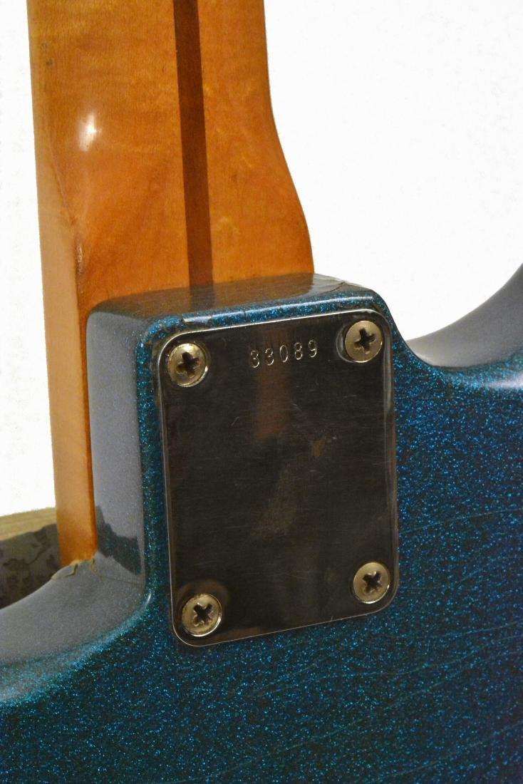 1959 Stratocaster, rare blue sparkle, with amp & more - 12
