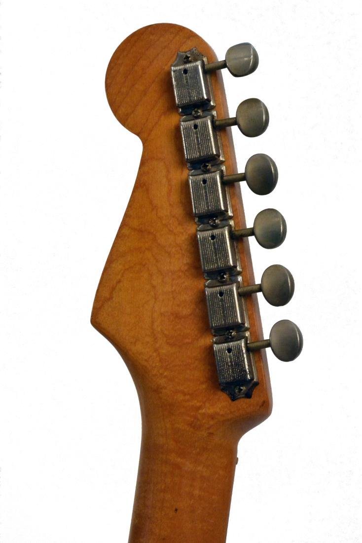 1959 Stratocaster, rare blue sparkle, with amp & more - 14