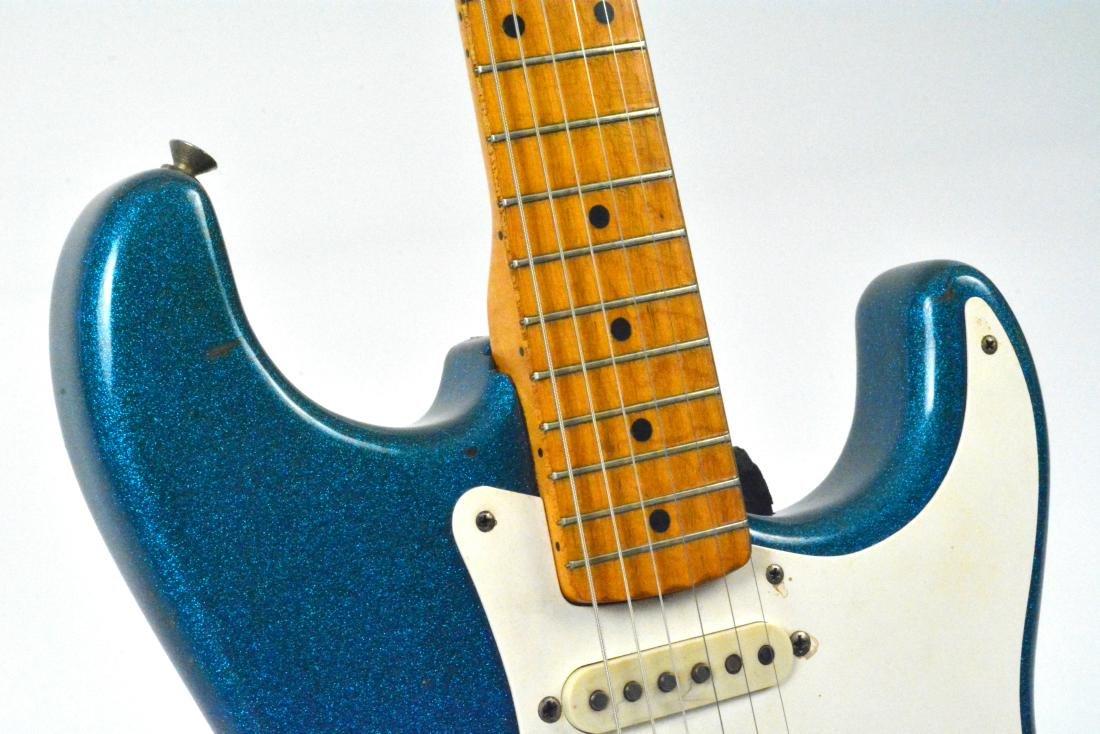 1959 Stratocaster, rare blue sparkle, with amp & more - 5