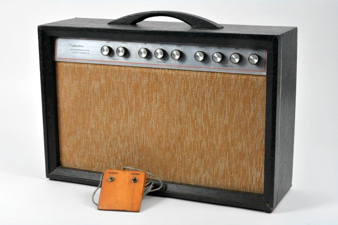 1959 Stratocaster, rare blue sparkle, with amp & more - 7