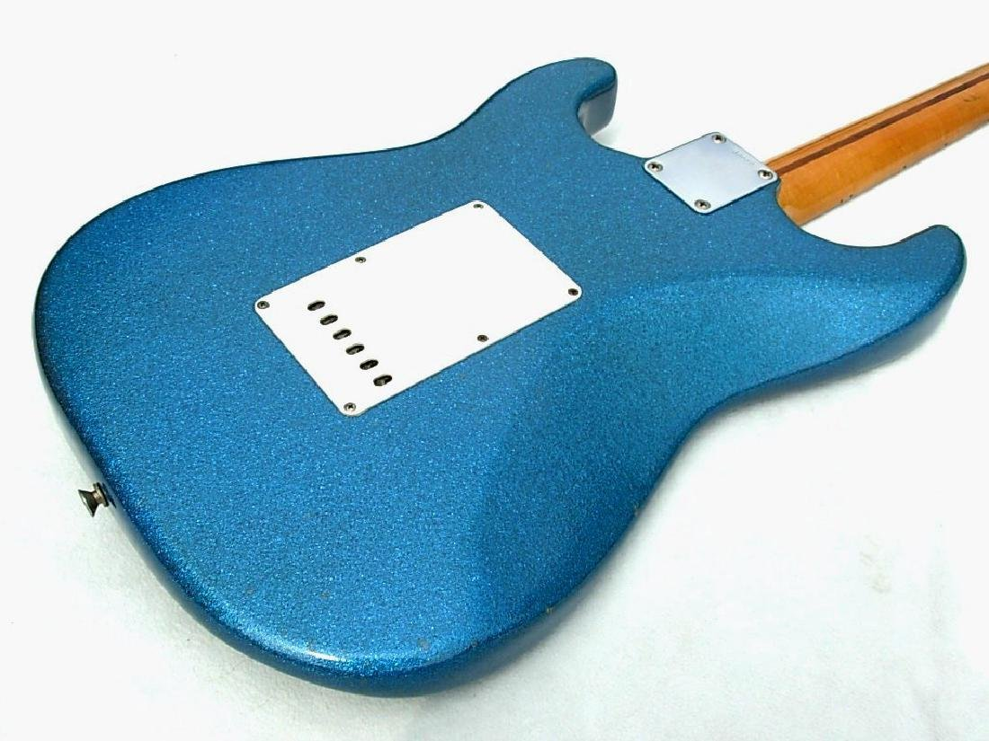 1959 Stratocaster, rare blue sparkle, with amp & more - 9