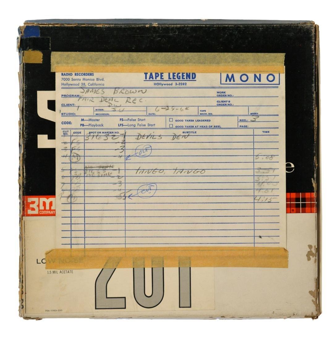 1964 James Brown Grits & Soul Mono Tape