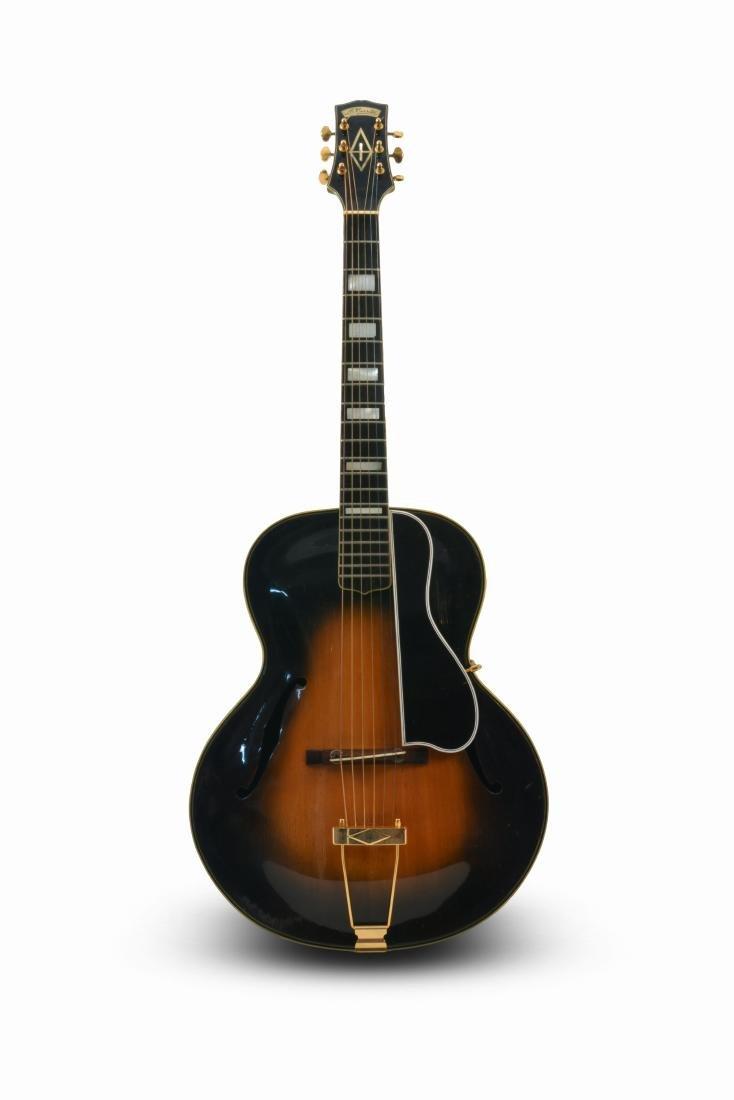 20th c. Unique Antonio Cerrito Archtop Guitar