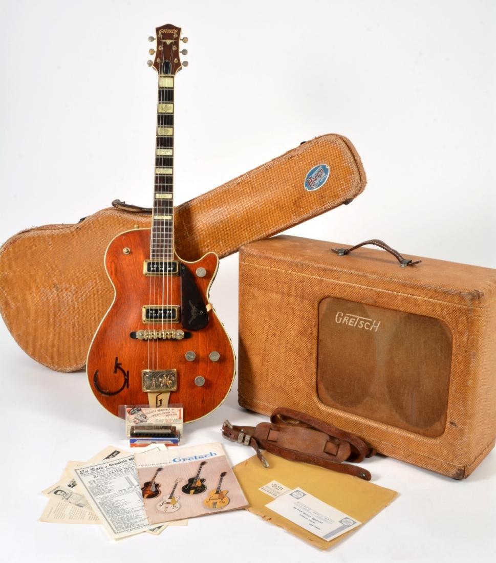 1955 Gretsch Round-Up guitar & 1955 Gretsch tweed amp