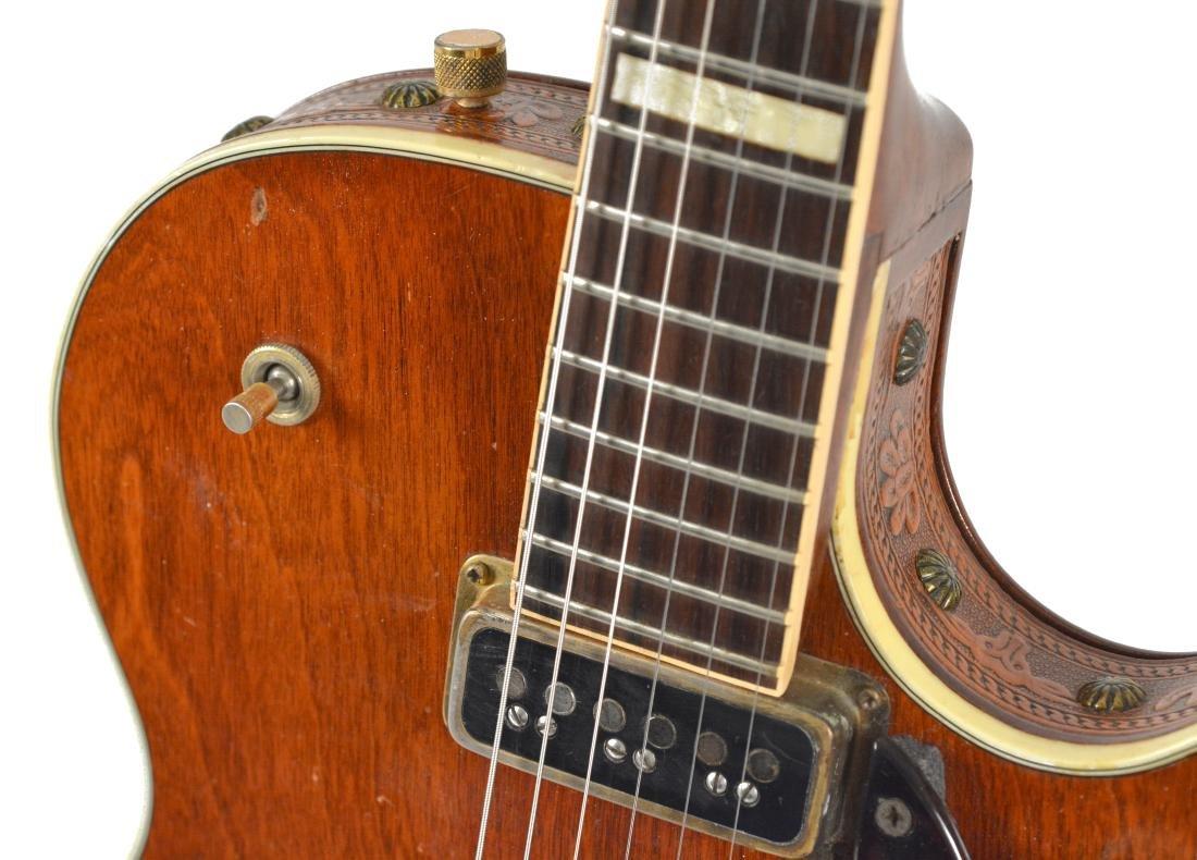 1955 Gretsch Round-Up guitar & 1955 Gretsch tweed amp - 5