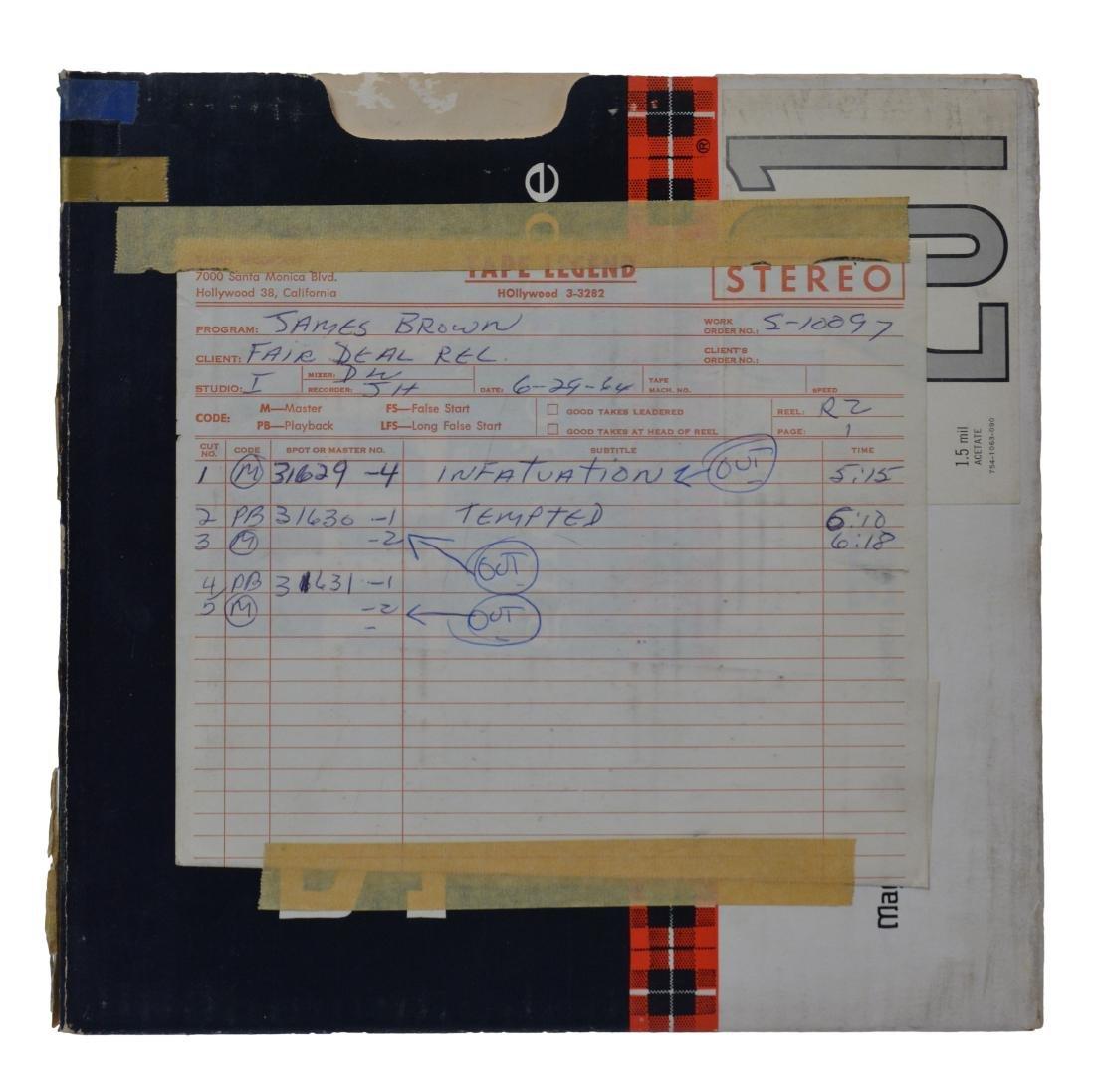 1964 James Brown Grits & Soul Master Tape