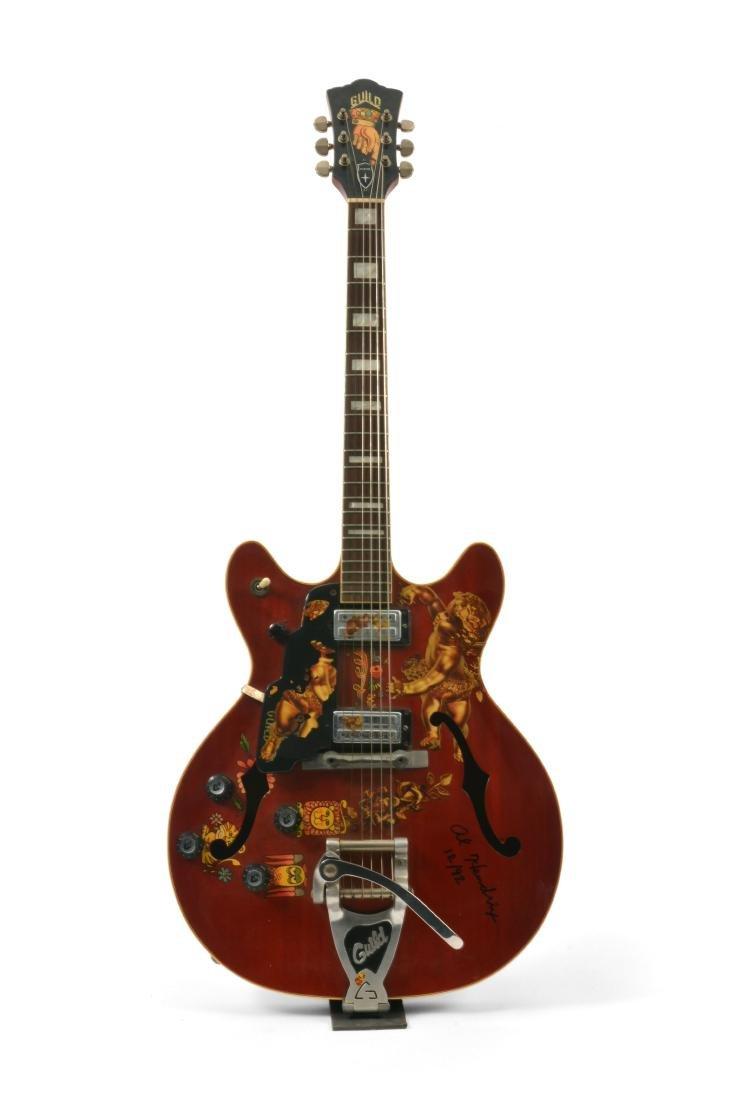 Jimi Hendrix's 1967 Electric Guild Starfire V