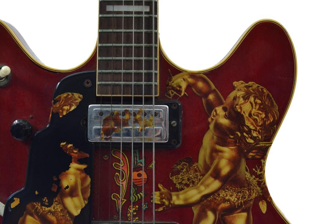 Jimi Hendrix's 1967 Electric Guild Starfire V - 5