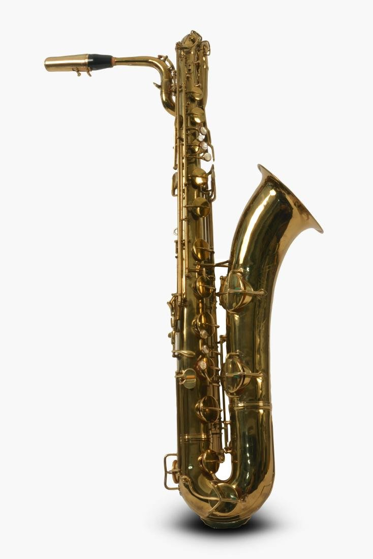 Gerry Mulligan Lacquered Conn Baritone Saxophone #34076
