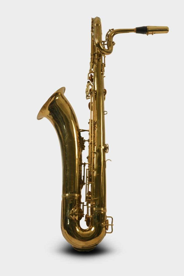 Gerry Mulligan Lacquered Conn Baritone Saxophone #34076 - 2