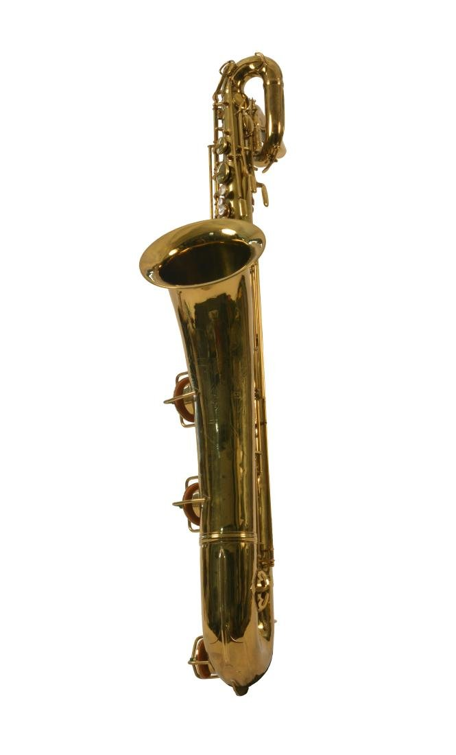 Gerry Mulligan Lacquered Conn Baritone Saxophone #34076 - 3