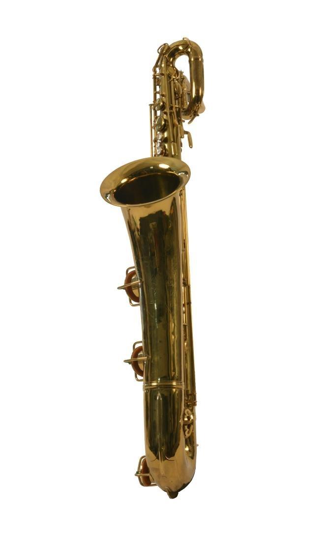 Gerry Mulligan Lacquered Conn Baritone Saxophone #34076 - 3