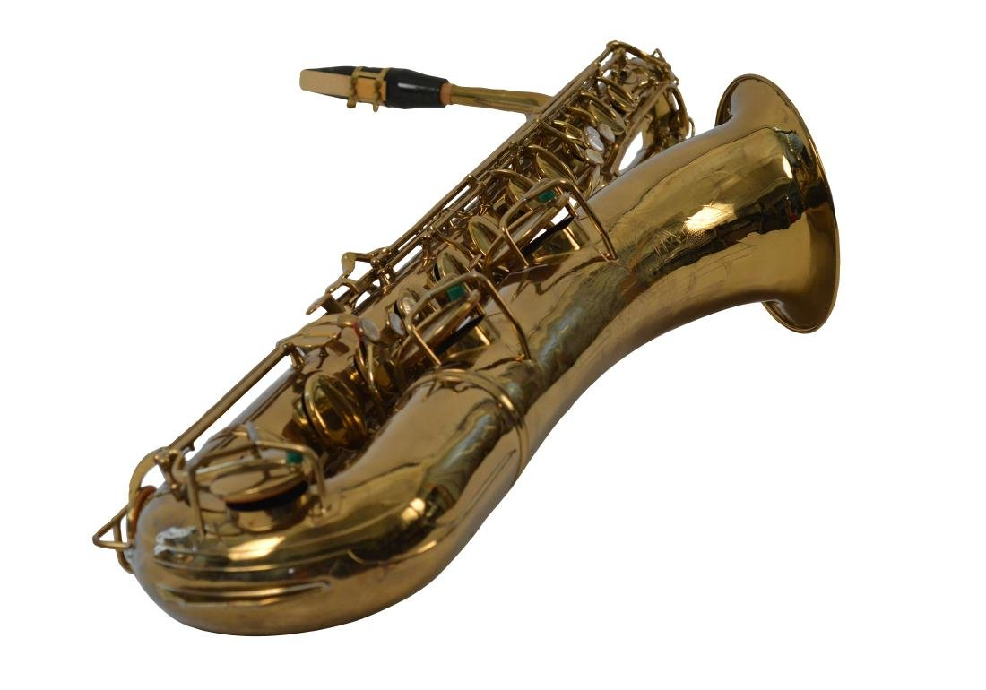 Gerry Mulligan Lacquered Conn Baritone Saxophone #34076 - 4