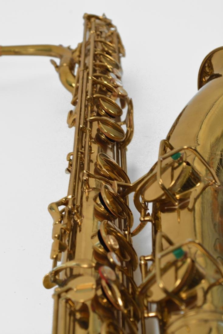 Gerry Mulligan Lacquered Conn Baritone Saxophone #34076 - 5