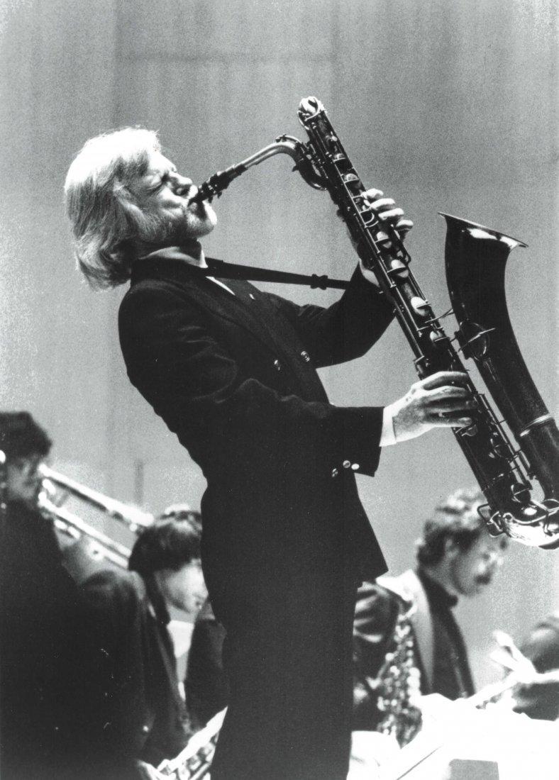 Gerry Mulligan Lacquered Conn Baritone Saxophone #34076 - 6