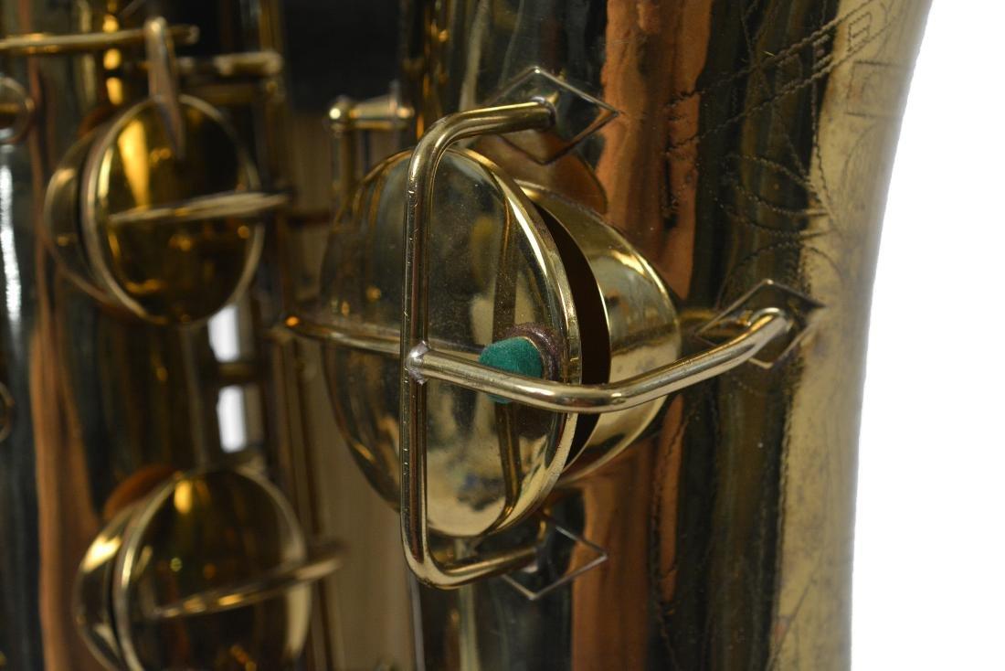 Gerry Mulligan Lacquered Conn Baritone Saxophone #34076 - 8