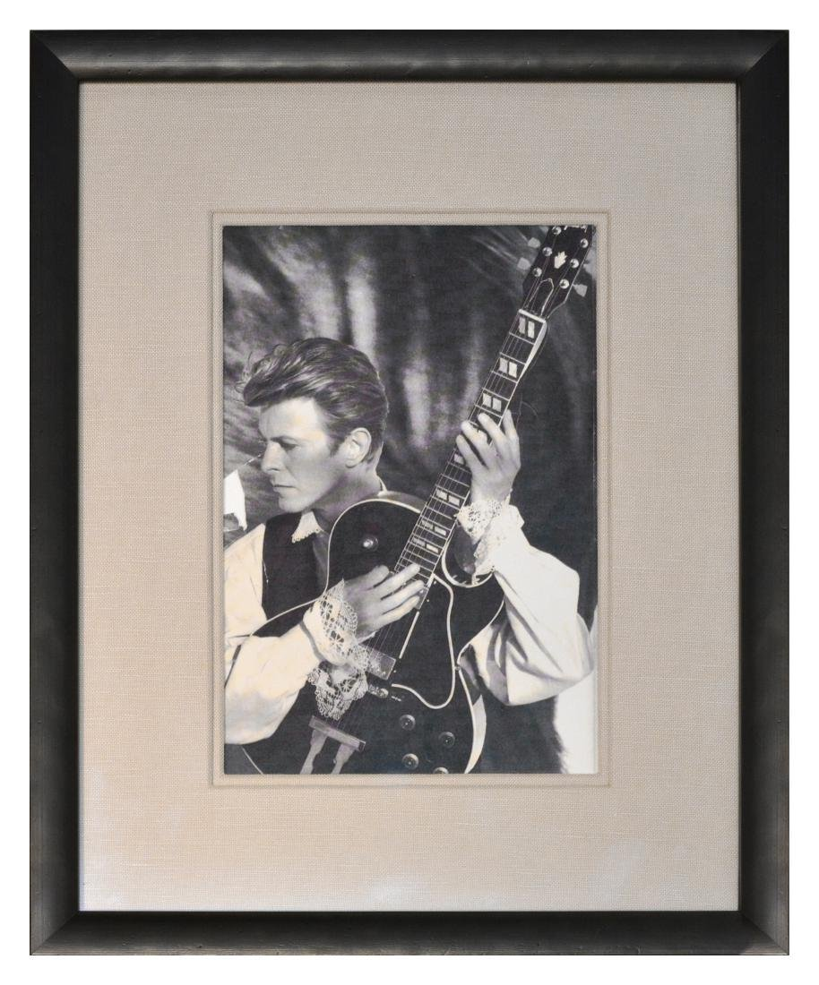 David Bowie's Owned and Played 1989 Gibson L4 - 8