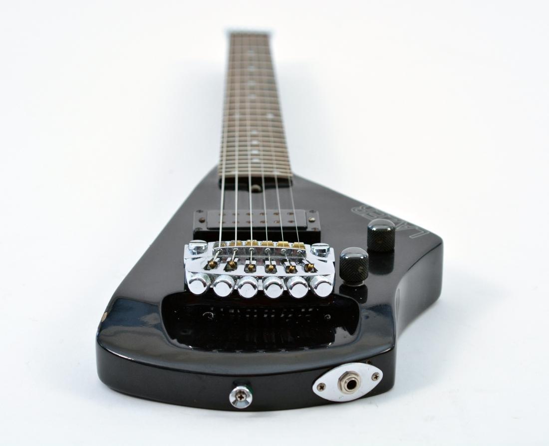 Johnny Winter Black Erlewine Lazer Guitar - 5