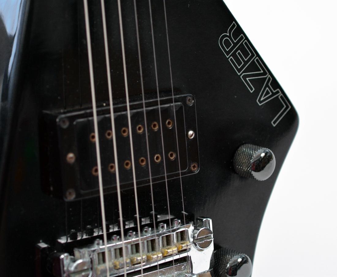 Johnny Winter Black Erlewine Lazer Guitar - 6